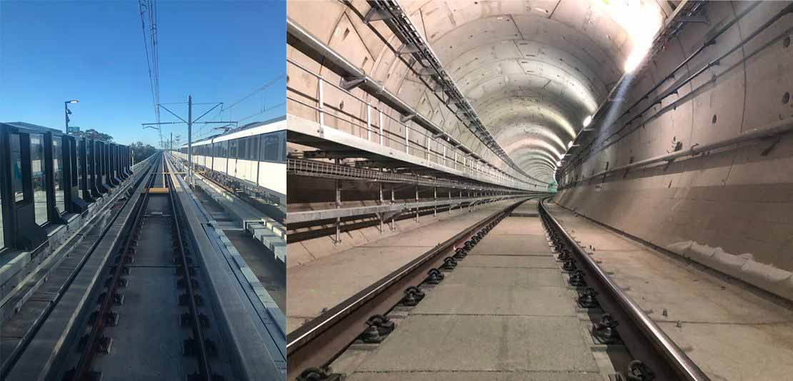 Delkor Rail celebrates launch of Sydney Metro Stage 1